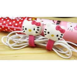 iPhone Kabel Snap Hållare (Hello Kitty)