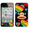iPhone 5 Skin Paul Frank (Svart)