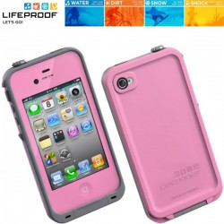 iPhone 4/4S Skal LifeProof (Rosa)