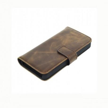 iPhone 5 Plånbok Fidanza (Brun)