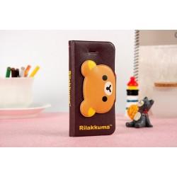 iPhone 5 Plånbok Rilakkuma (Brun)