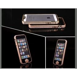 iPhone 5 Diamond Bumper (Guld)