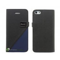 iPhone 5 Plånbok Fantazia (Blå)