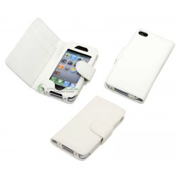 iPhone 3G/GS iPock Wallet Book Fodral (Vit)