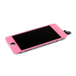 iPhone 5 Digitizer LCD Komplett (Rosa)