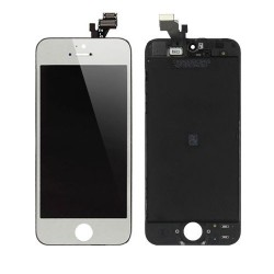 iPhone 5 Digitizer LCD Komplett (Silver)