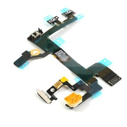 iPhone 5S Power Mute Volym Flex Kabel