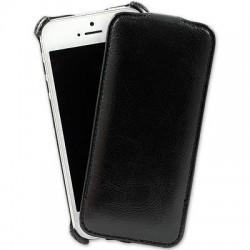 Addual Flip Plånbok iPhone 5/5S (Svart)