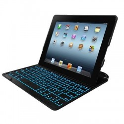 iPad 2/3/4 Tangentbord Fodral ZaggKeys (Svart)