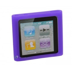 iPod Nano 6 Silikon Skal (Lila)