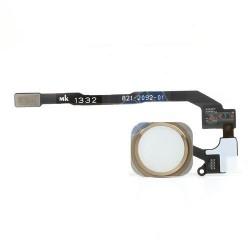 iPhone 5S Hem Knapp PCB Membrane Flex Kabel (Vit)