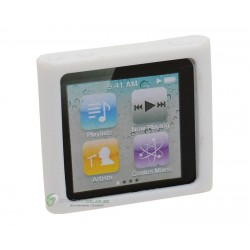 iPod Nano 6 Silikon Skal (Vit)