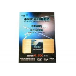 Anti-strålning Batteri Klistermärke