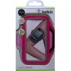 Belkin iPhone 5 Slim Fit Sportarmband (Rosa)