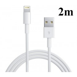 iPhone 5/6 Lightning USB Kabel (2m)