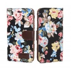 iPhone 6 Plus Plånbok Fluoria Svart