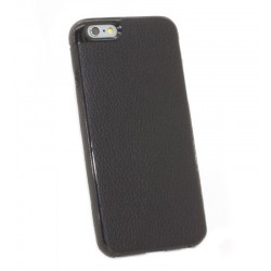 iPhone 6 Skal Leather Svart