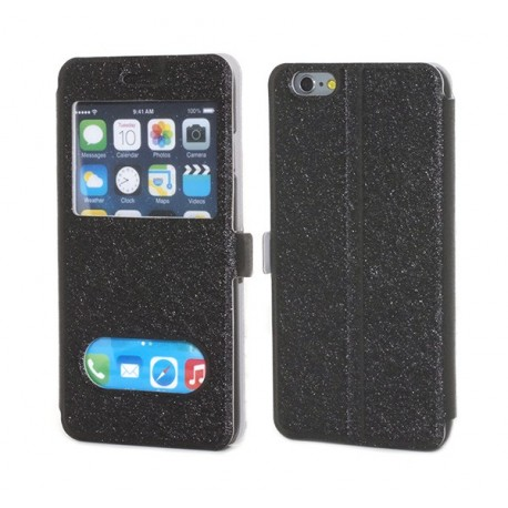 iPhone 6 Plånbok Sparks Svart