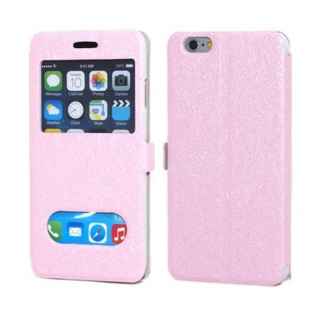 iPhone 6 Plånbok Sparks Rosa