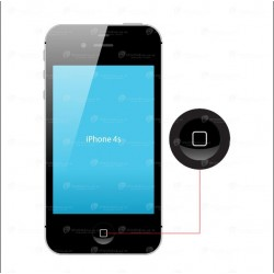 iPhone 4/4S Hemknapp Byte