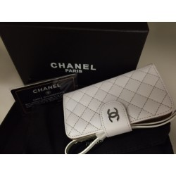 iPhone 5/5S Chanel Plånbok (Vit)