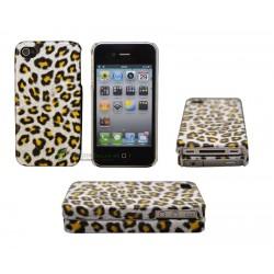 iPhone 4/4S serie Leopard (Gul)