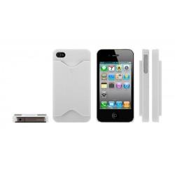 iPhone 4/4S serie Credit Card (Vit)