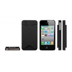 iPhone 4/4S serie Credit Card (Svart)