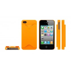 iPhone 4/4S serie Credit Card (Orange)