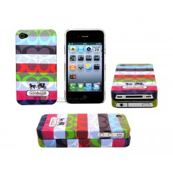 iPhone 4 serie Coach (Rainbow)