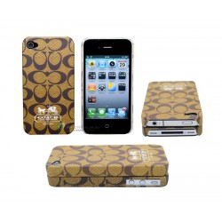 iPhone 4 serie Coach (Gul)