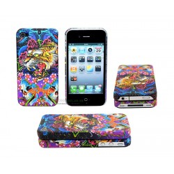 iPhone 4/4S serie ED Hardy - Tiger & Dragon