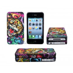 iPhone 4/4S serie ED Hardy - Tiger & Snake