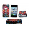 iPhone 4/4S serie ED Hardy - Burning Skull
