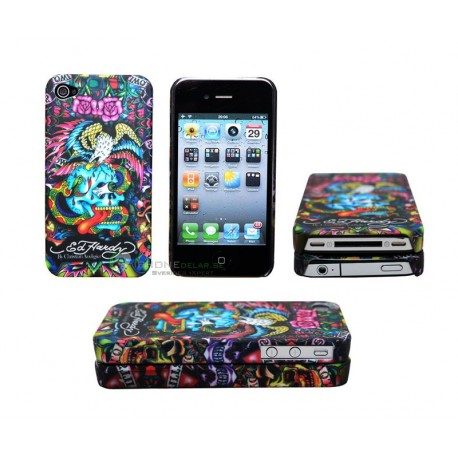 iPhone 4 serie ED Hardy - Snake & Scull