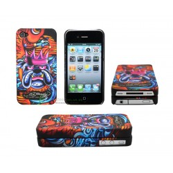 iPhone 4/4S serie ED Hardy - Bulldog