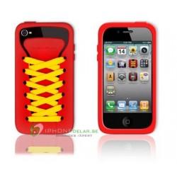 iPhone 4 serie PlayHello iShoe (Röd)