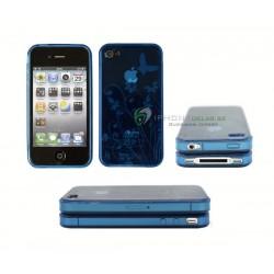iPhone 4 serie Butterfly (Blå)