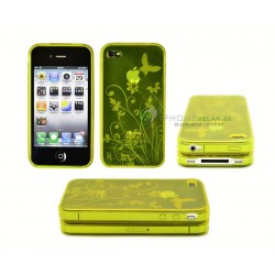 iPhone 4 serie Butterfly (Gul)