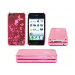 iPhone 4 serie Butterfly (Rosa)
