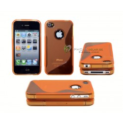 iPhone 4 serie S-line (Orange)