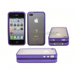 iPhone 4 serie Silikon Frost (Lila)