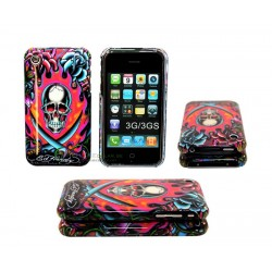 iPhone 3G/GS Ed Hardy - Burning Skull