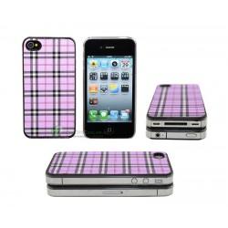 iPhone 4 serie Tartan (Rosa)