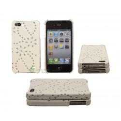 iPhone 4/4S serie Flowerflake (Vit)