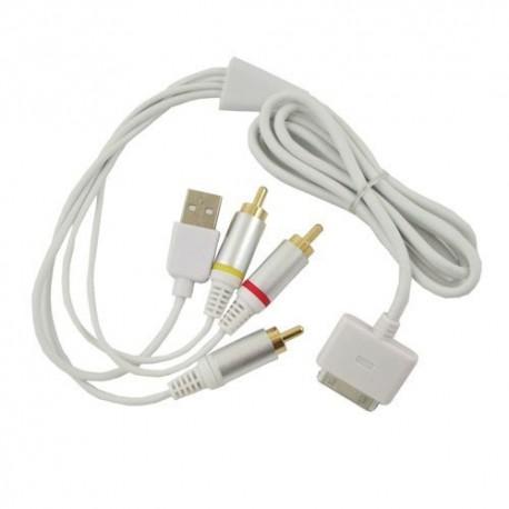iPhone iPod iPad AV-kabel