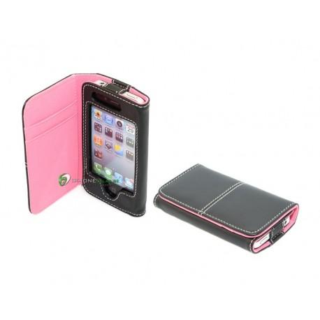 iPhone serie Wallet Binali (Rosa)