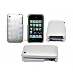 iPhone 3G/GS serie Kolfiber (Silver)