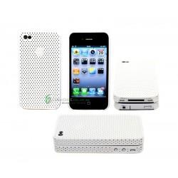 iPhone 4 serie Perforated (Vit)