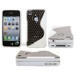 iPhone 4 serie S-Diamond (Vit)